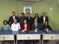 Câmara Municipal de Nazária concedeu ao Senhor Evangelista Vieira de Alencar, o Título de Cidadão Honorário