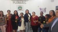 Câmara Realizou Sessão Solene em Homenagem as Mulheres.