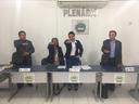 Suplente de Vereador toma posse na Câmara Municipal.