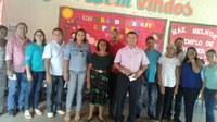 Vereadores visitam escolas da rede municipal de Nazária.